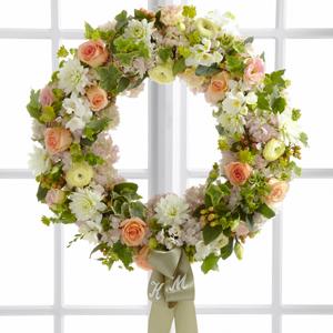The FTD® Garden Splendor™ Wreath