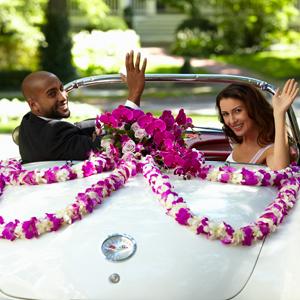 The FTD® Promise of Love™ Car Décor