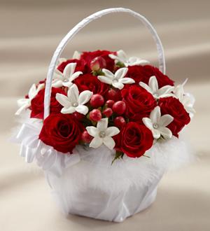 Hope blooms flowers things the ftd baby love flower girl basket the ftd baby love flower girl basket mightylinksfo