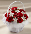 The FTD� Baby Love� Flower Girl Basket
