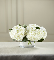 The FTD® White Hydrangea Bouquet