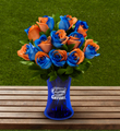 The FTD® University of Florida® Gators® Rose Bouquet - 12 Stems