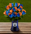 The FTD� Auburn University� Tigers� Rose Bouquet - 12 Stems