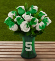 The FTD® Michigan State University Spartans® Rose Bouquet - 12 Stems