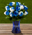 The FTD® Duke University® Blue Devils® Rose Bouquet - 12 Stems
