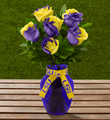 The FTD� Louisiana State University� Tigers� Rose Bouquet - 6 Stems