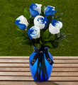 The FTD� Penn State� Nittany Lions� Rose Bouquet - 6 Stems