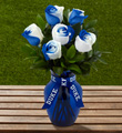 The FTD� Duke University� Blue Devils� Rose Bouquet - 6 Stems