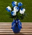 The FTD® Duke University® Blue Devils® Rose Bouquet - 6 Stems