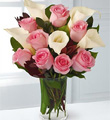 Fabled Beauty Bouquet with FREE Vase - 13 Stems