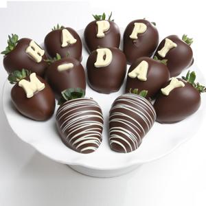Belgian Chocolate Dipped Mother\'s Day Berrygram