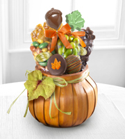 Autumn Eats & Treats Gourmet Gift Basket