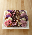 Shari's Berries™ presents Chocolate Dip Delights™ Chocolate Covered Love Valentine Combo - GOOD