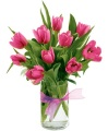 The Tulip Bouquet - Pink