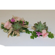Natural Beauty Corsage & Boutonniere
