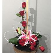 Lafayette Florist Contemporary Rose Arrangement