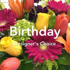 DESIGNERS CHOICE BIRTHDAY