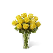YELLOW ROSES ARRANGED
