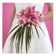 LUSCIOUS PINK LILLY BOUQUET