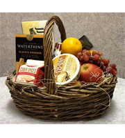 Tasty Treats Fruit & Gourmet Basket