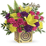 Teleflora's Colorful Celebration Bouquet