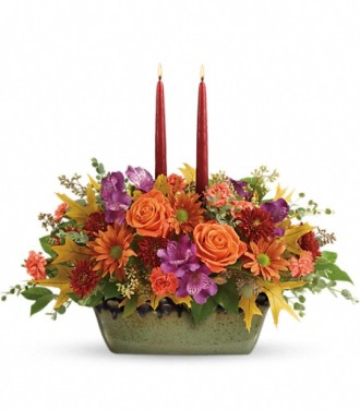 Teleflora\'s Country Sunrise Centerpiece