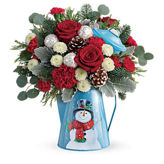 Teleflora\'s Frosty Enchantment Bouquet