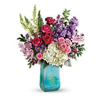 Teleflora\'s Iridescent Beauty Bouquet