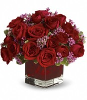 Never Let Go by Teleflora - 18 Red Roses