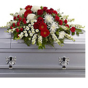 Teleflora's Strength & Wisdom Casket Spray