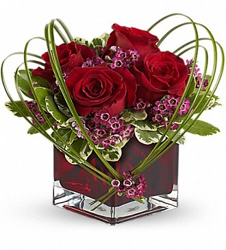 Teleflora\'s Sweet Thoughts Bouquet with Red Roses