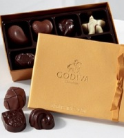 8 Pc. Godiva Chocolate