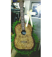Flowered Guitar