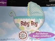 Baby Boy Buggy Balloon