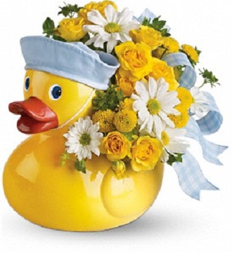 Teleflora\'s Ducky Delight- Boy