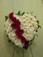 Farewell With Love Easel Bouquet