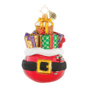 Christopher Radko Buckle Up For the Holidays! Ornament