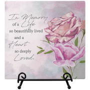 Deeply Loved Easel Plaque