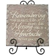 Heartache Memorial Plaque