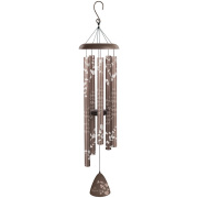 "In Memory Bronze Silhouette 44"" Wind Chime"