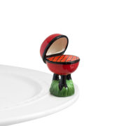 Nora Fleming Hot Stuff BBQ Grill Mini
