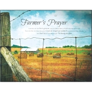 Farmer's Prayer Plaque