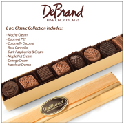 DeBrand 8 Piece Chocolate