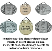 ADD ON ITEM- ACCENT PLAQUES