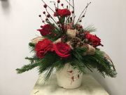 CARDINAL HOLIDAY BOUQUET