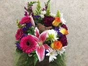 SPRING BIRD BOUQUET