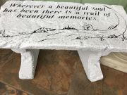 Trail of Memories LARGE BENCH