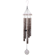LARGE CARSON WIND CHIME- VINTAGE WHITE 62741