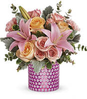 Teleflora's Pink Breeze Bouquet