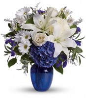 Teleflora Beautiful in Blue